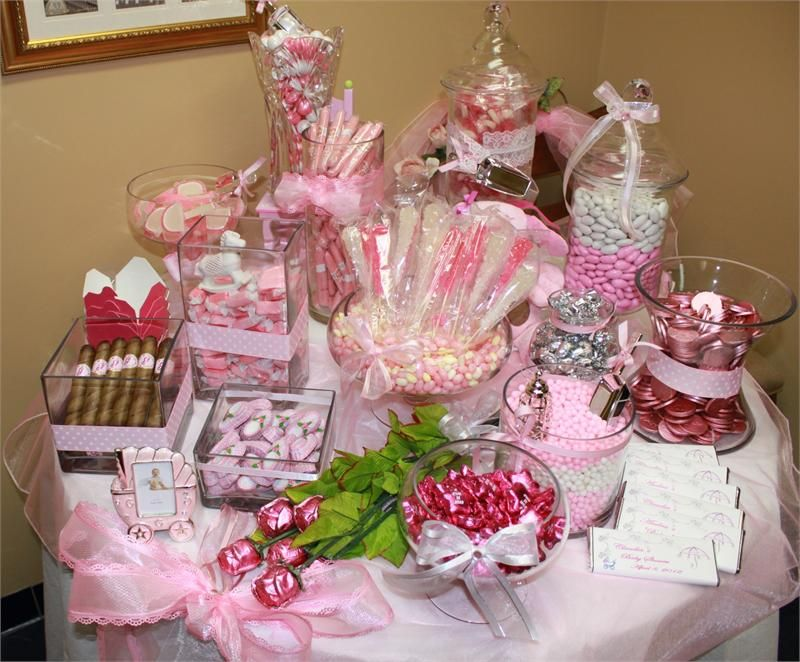Amazing Baby Shower Candy Buffet Sayings | Add Pink Bubble Gum Cigars (1 Per Person)