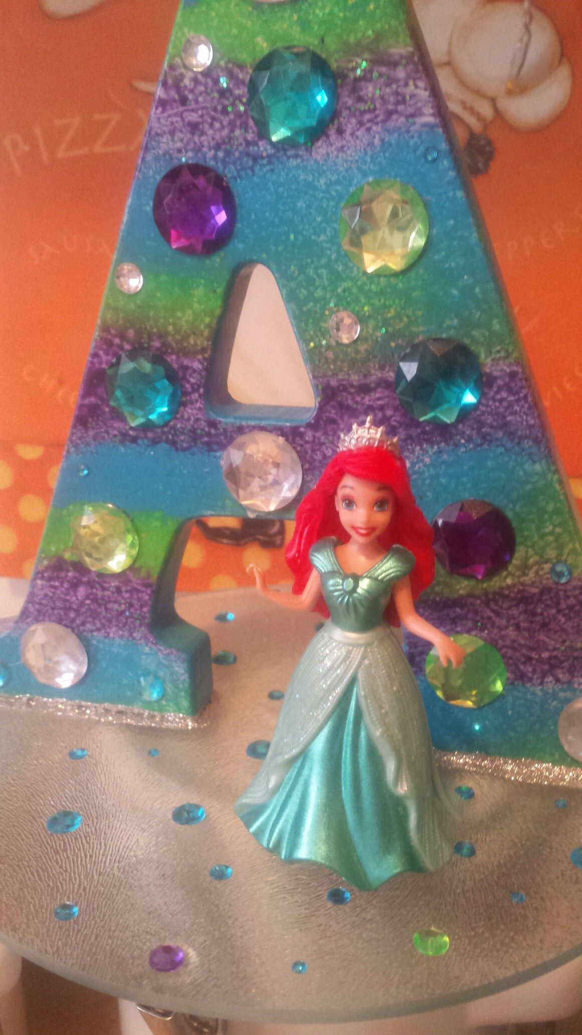 Cake topper little mermaid the little mermaid cake