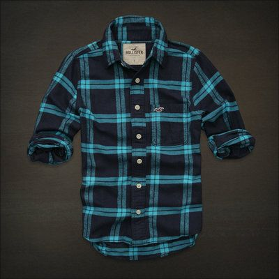 hollister shirts for men blue - photo #12