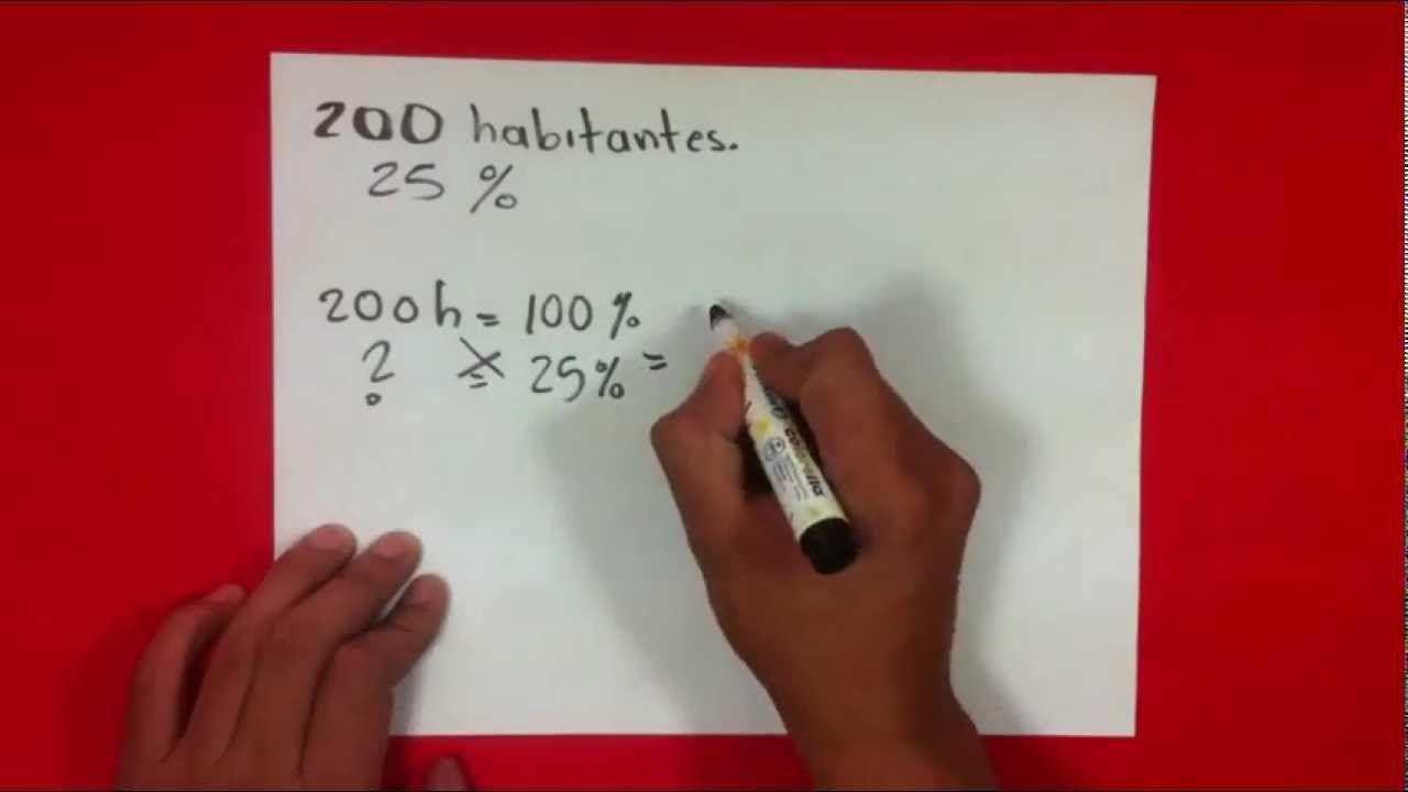 Calcular Un Porcentaje En Matemáticas Sacar Tanto Por Ciento Matematicas Cómo Sacar Porcentajes Recursos Matemáticos