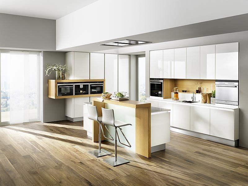 Breitschopf macht ihre Küche → Linea Foresto Weiß Hochglanz - küchenzeile hochglanz weiß