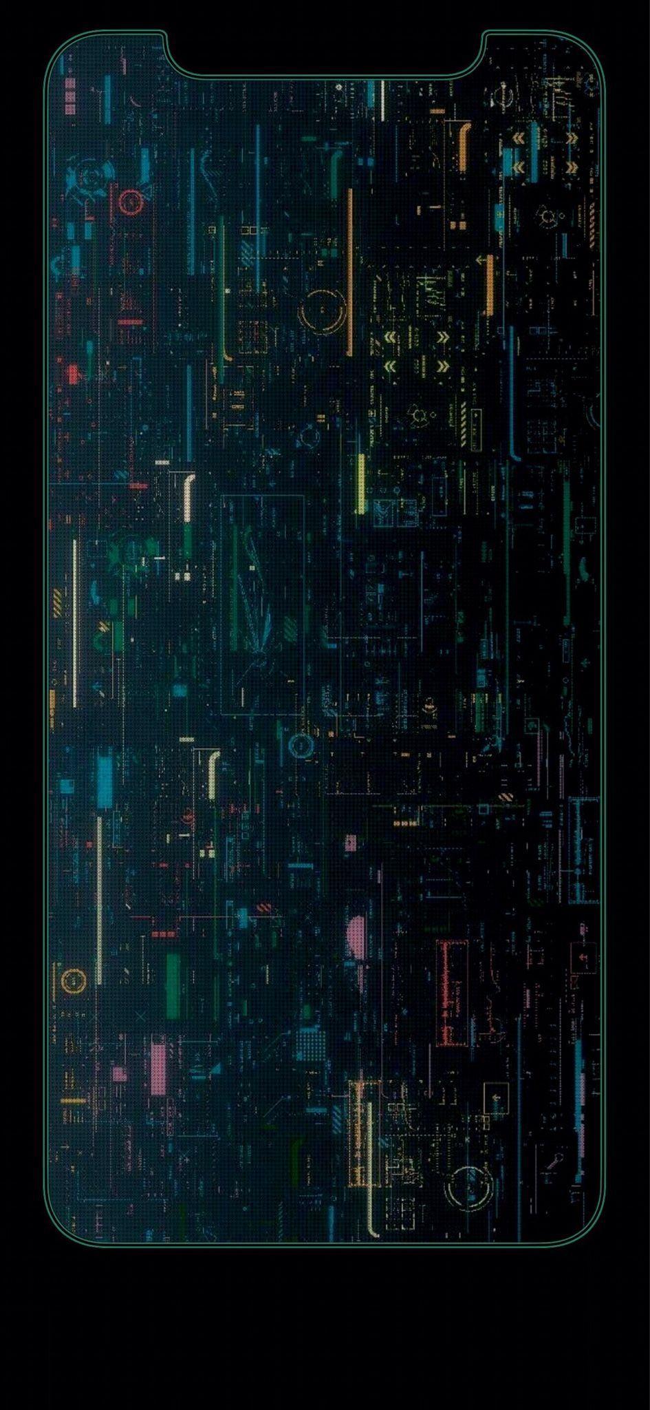 iPhone X Wallpaper Cyberpunk Luxury the iPhone X Wallpaper