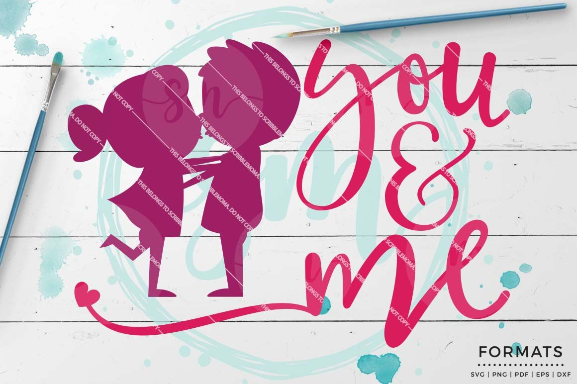 You And Me By Scribblemoma Graphics January Craft Crafts Crafty