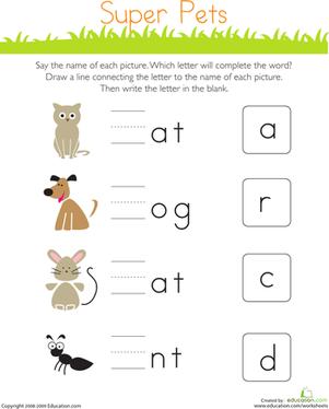 17+ images about Kindergarten worksheets on Pinterest | Project ...
