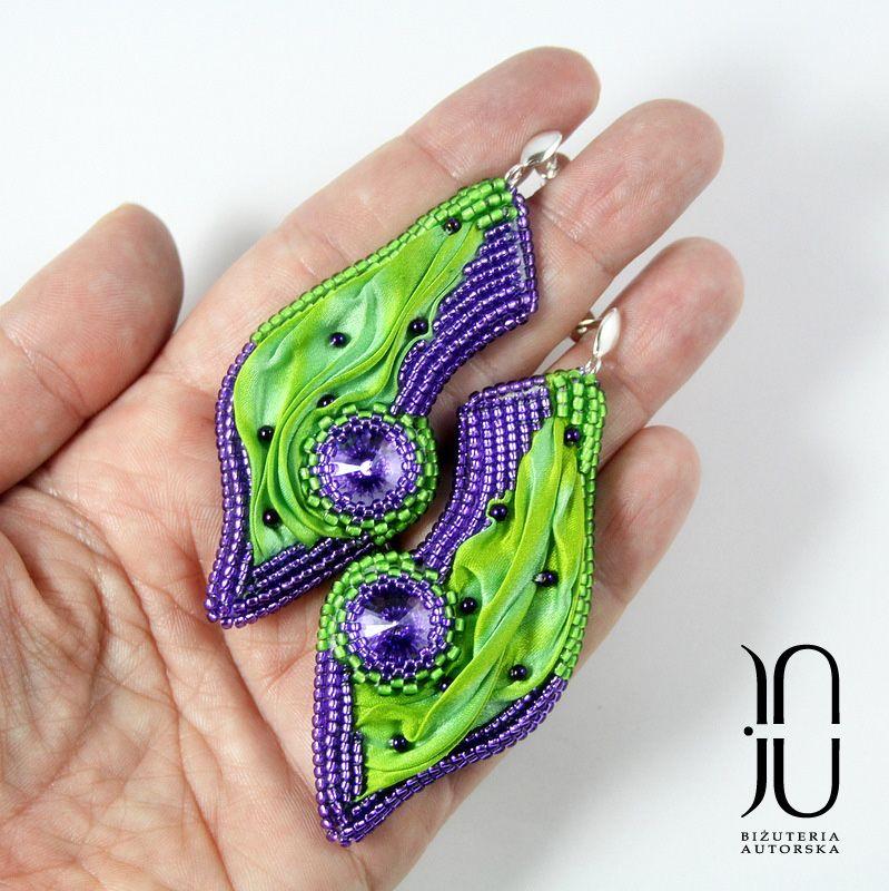 #tutorial #shibori #earrings