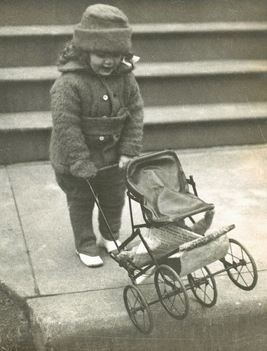 Pushing her doll buggy | Flickr - Photo Sharing!