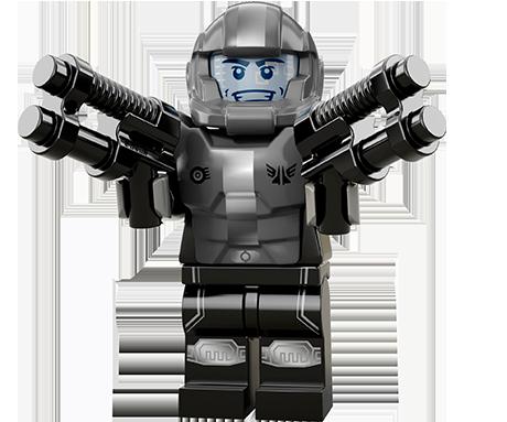 Série 13 : le soldat galactique