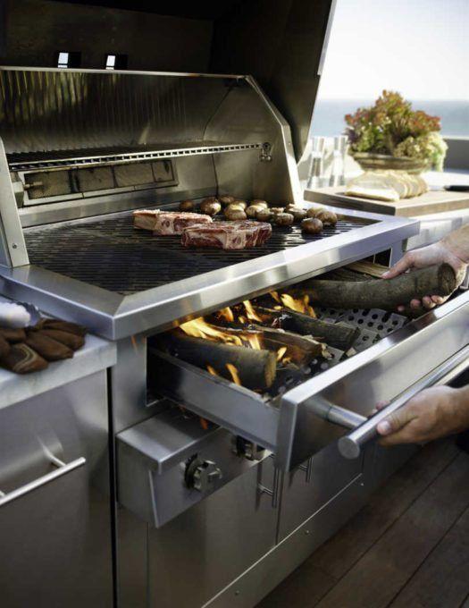 The Kalamazoo Hybrid Fire Grill Ultimate