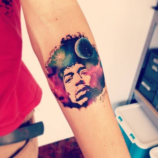 galaxy tattoo tumblr -...