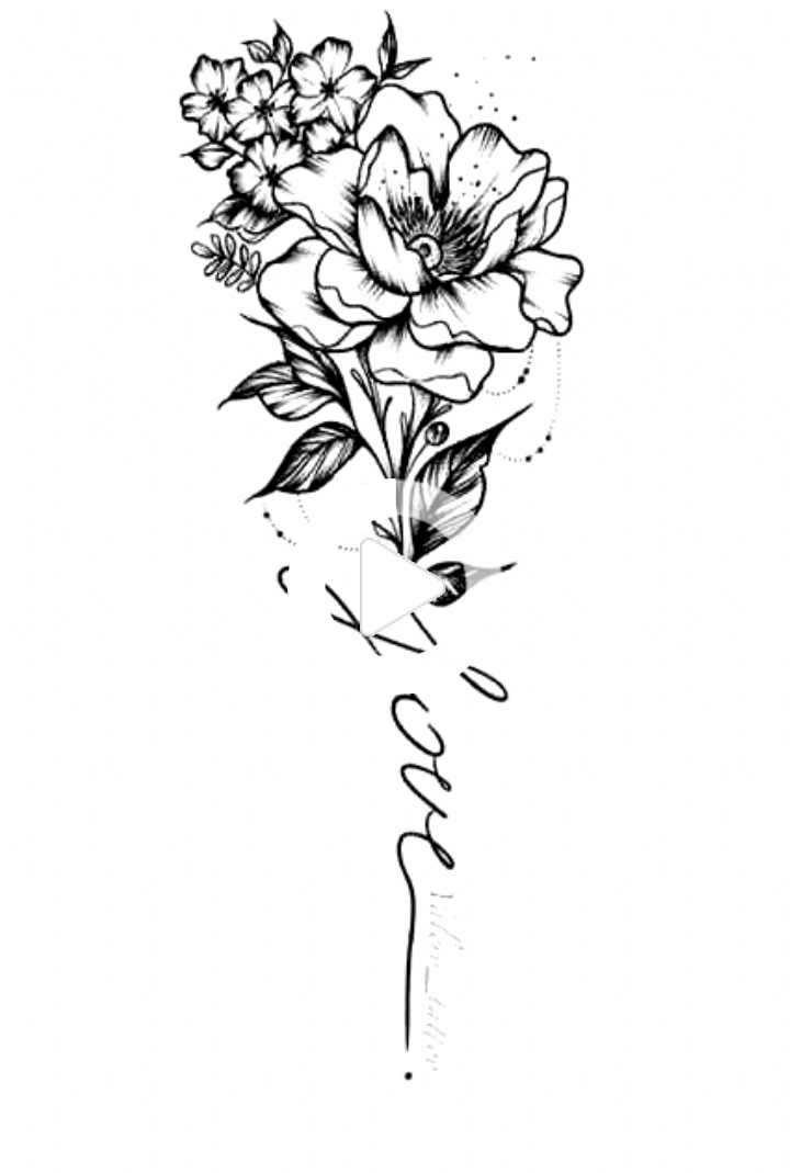 Pin on Small Rose Tattoo