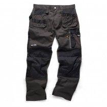 Mens Scruffs Worker Trouser Work Lightweight Cargo Pants KNEE Pad FREE KNEE PADS