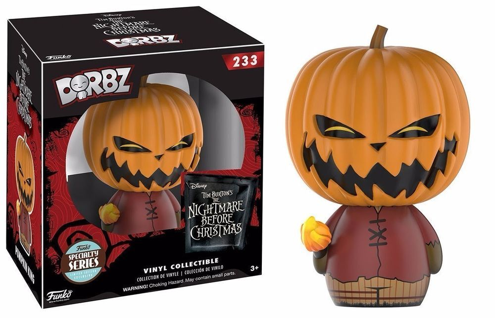 Funko Dorbz Nightmare Before Christmas Pumpkin King Specialty Action