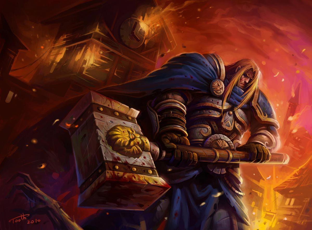 Warcraft Fan Art Gallery - Prince Arthas - The Culling of ...