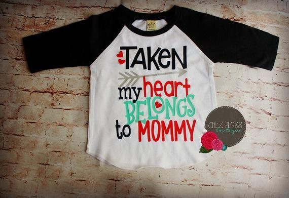 7ac03381 boys valentine shirt, My Heart Belongs to Mommy, Boy Valentine Outfit, Boys  Valentine Shirt, Valenti