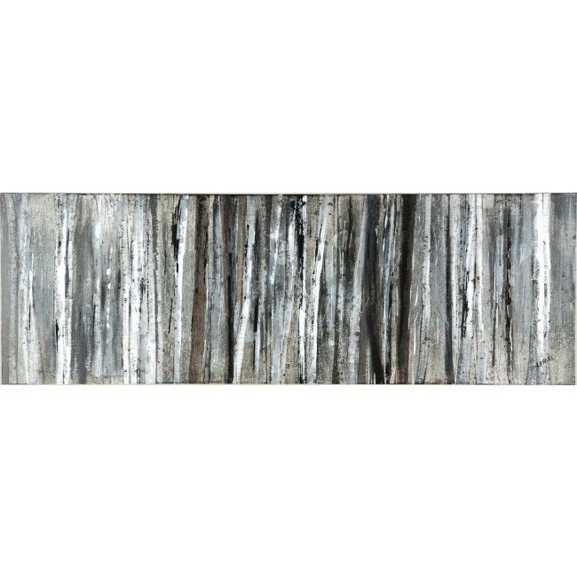 Rectangular Wall Art ren-wil birch blur i rectangular wall art multi-colored w5615