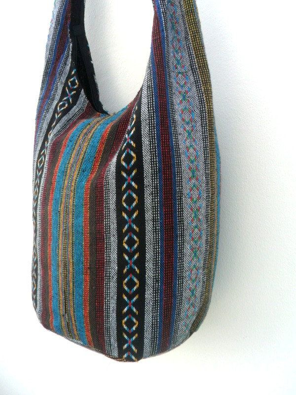 1c73875957 Crossbody Bag Bohemian Bag Hobo Bag Hippie Bag Messenger Shoulder Bag Purse  Handbag boho Gift Thai Bag Handmade Everyday Bag Gift Multicolor by ...