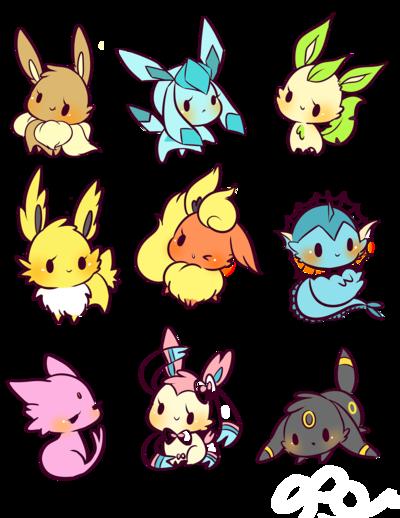 Eeveelution Buttons From Birduyen Cute Pokemon Wallpaper Cute Pokemon Pictures Pokemon