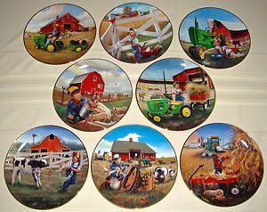 Image is loading SET-Donald-Zolan-Children-John-Deere-Tractors & Image is loading SET-Donald-Zolan-Children-John-Deere-Tractors ...