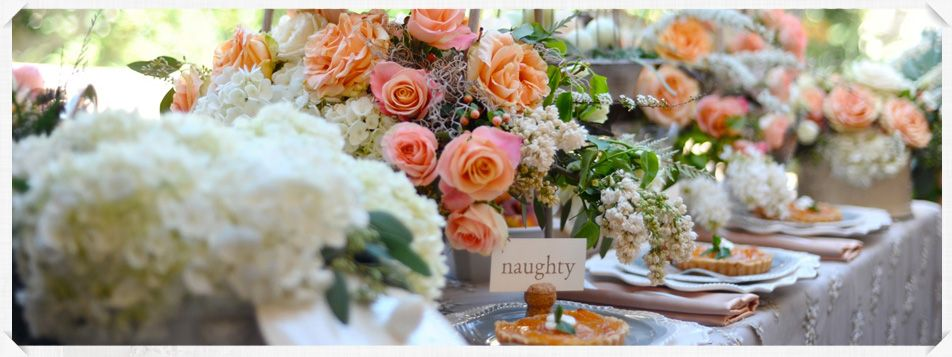Serra Plaza Events floral design http://frenchbuckets.com/  peach