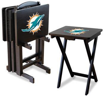 Miami Dolphins Tv Trays At Www Sportsfansplus Com Tv