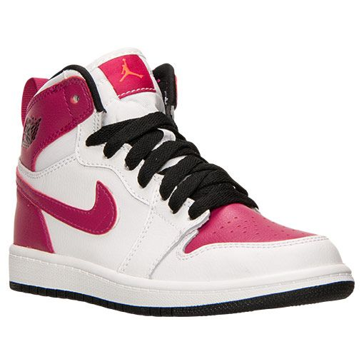 big sale 413cb 13429 Girls' Preschool Air Jordan Retro 1 High Basketball Shoes - 705321 108 |  Finish Line
