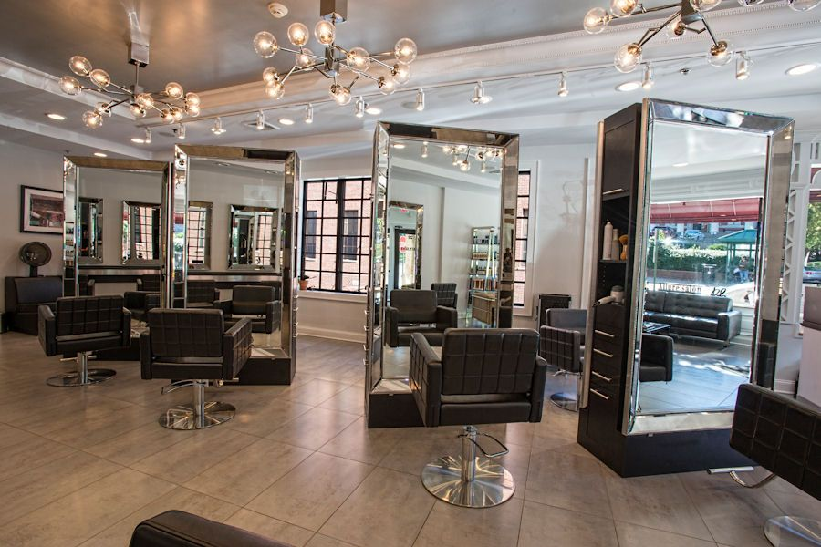 Allure Salon Styling Stations By Salon Interiors Salon Interior Design Salon Suites Decor Salon Interior