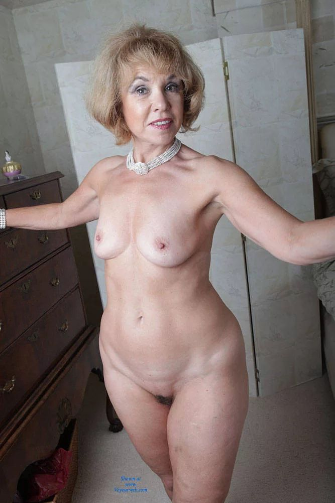 grannies with pearls Naked