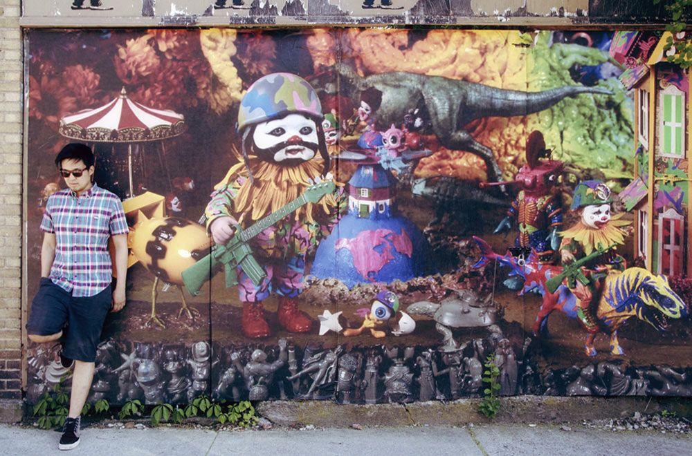 Street Mural - Memorial Day at Beacon - Nalata Nalata