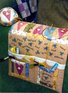 free pattern for armchair pin cushion caddy - Google ...