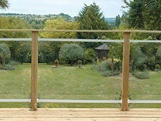 Ordinaire Related Image Glass Fence, Glass Garden, Sloped Garden, Garden Fences,  Decking Panels