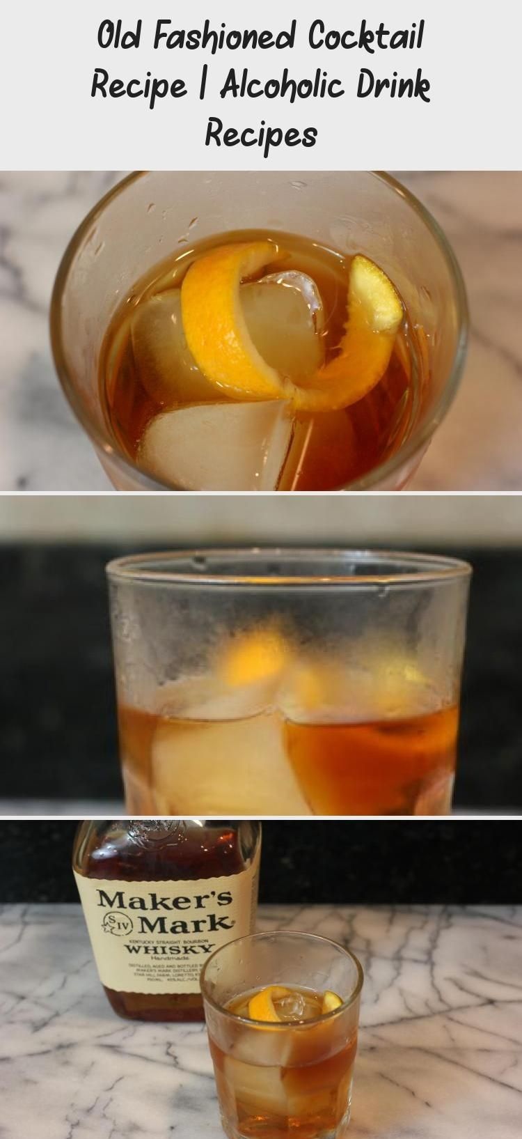 How To Make An Old Fashioned Cocktail Recipe For This Alcoholic