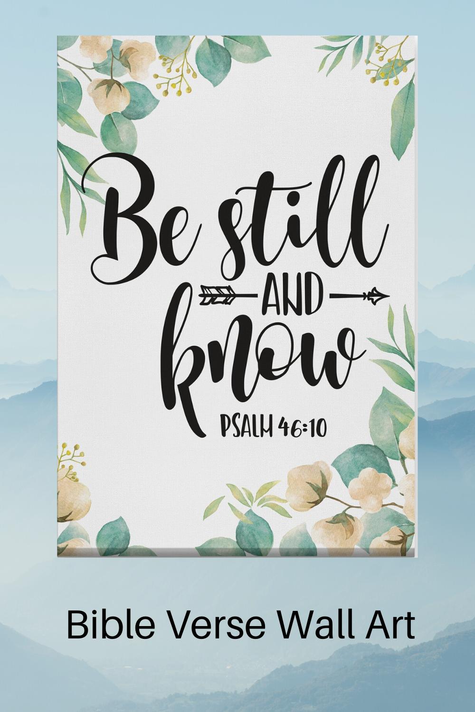 Pin On Bible Verse Canvas Wall Art