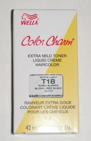 T18 White Lady Wella Hair Toner Is The Only I Have Used That Actually Gets Rid Of Gold In My You Can Get It At Sally S Beauty Supply