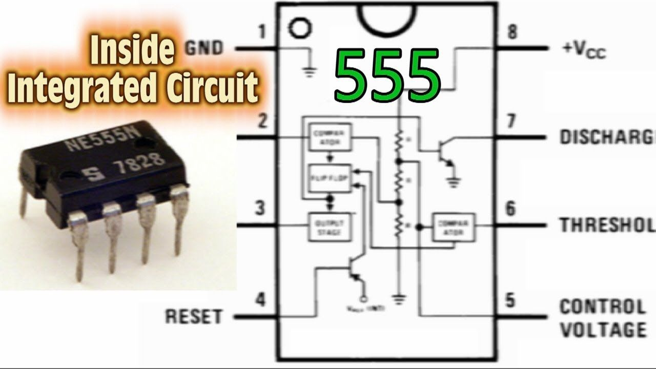 Dc Motor Control Pwm With 555 Projetos Para Experimentar Speed Controller Circuit Using Ic556 Homemade Inside Integrated