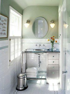 Ideas de diseño para baños pequeños Baño - Decoracion de Interiores