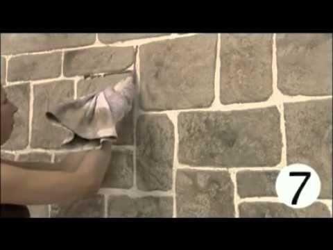 Santa Receita | Aprenda a fazer o efeito tijolinho na textura da parede! - 14 de Agosto de 2014 - YouTube