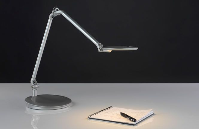element disc led task lighting by humanscale humanscale