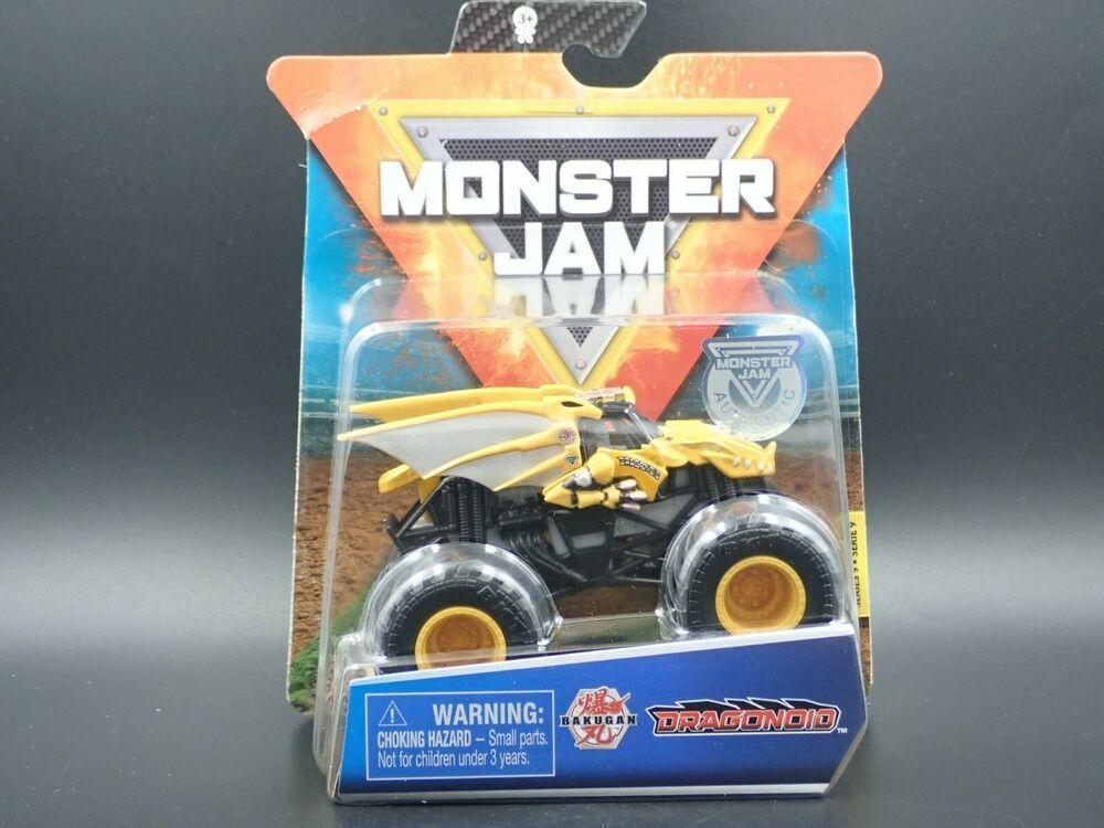 2020 Spin Master Monster Jam Monster Truck Mix 9 Dragonoid Crazy