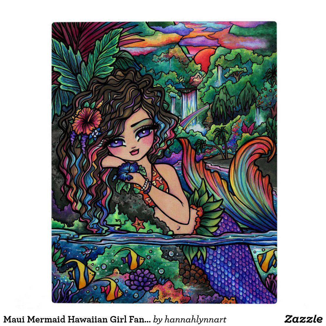 Ontwerp Zelf Fotoplaat Zazzle Nl Zeemeerminkunst Fantasy Art Kunst Ideeen