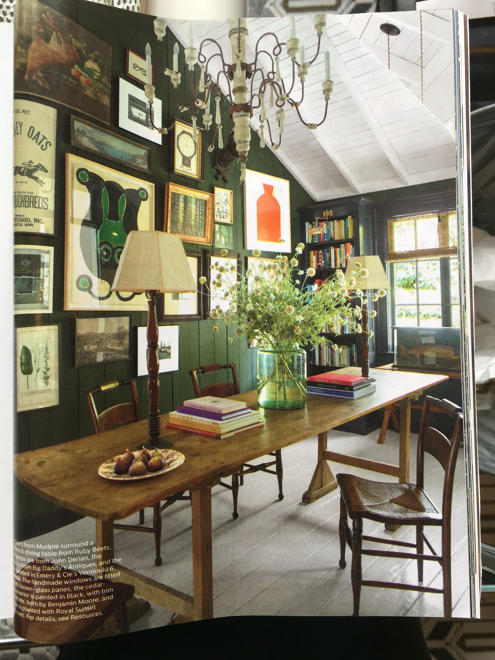Gorgeous Spread Of Blythe Harris Mill Valley House In Elle Decoration April 2016