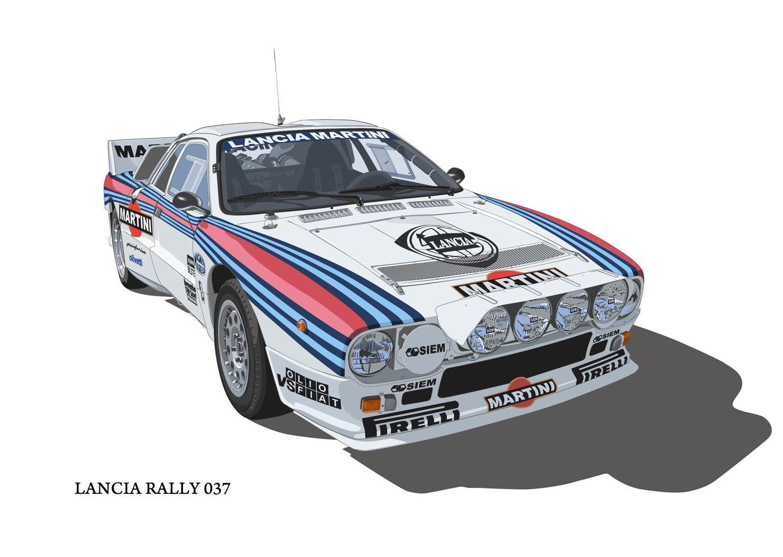 lancia rally 037 lancia pinterest rally cars and lancia delta. Black Bedroom Furniture Sets. Home Design Ideas