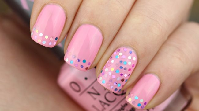 Pinky Polish #nail #nails #nailart
