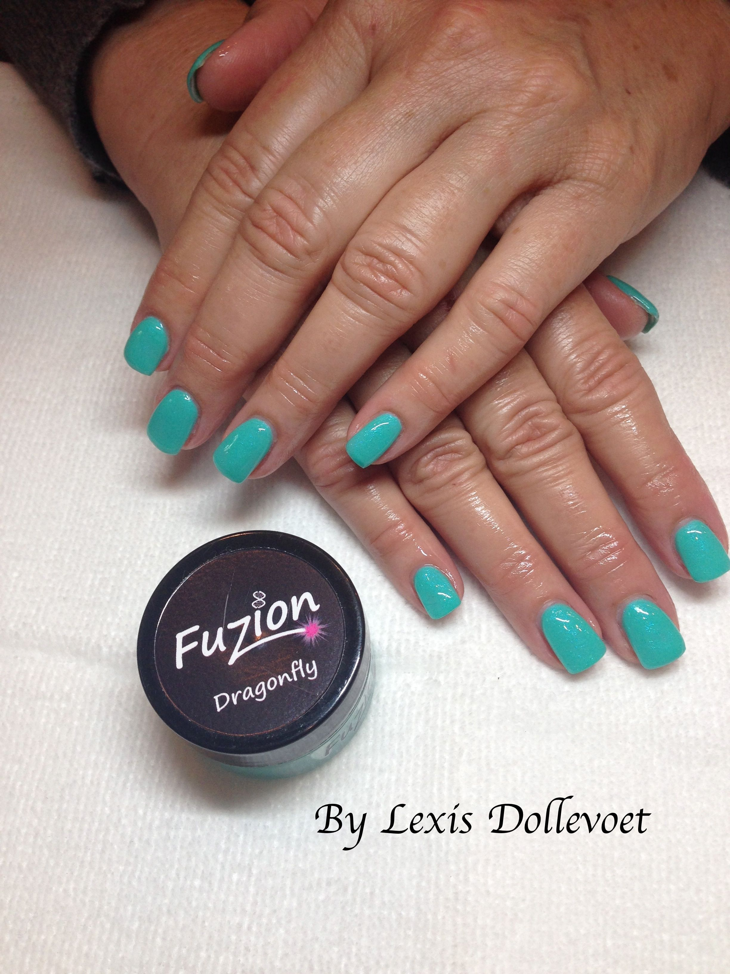 Fuzion Gel Nails by Lexis Dollevoet Check out my Instagram page for ...