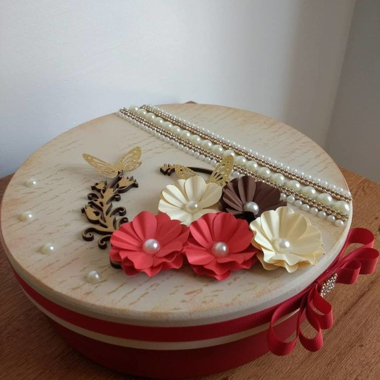 Caixas decoradas: tutoriais e 60 inspirações para você fazer #caixasdemadeira