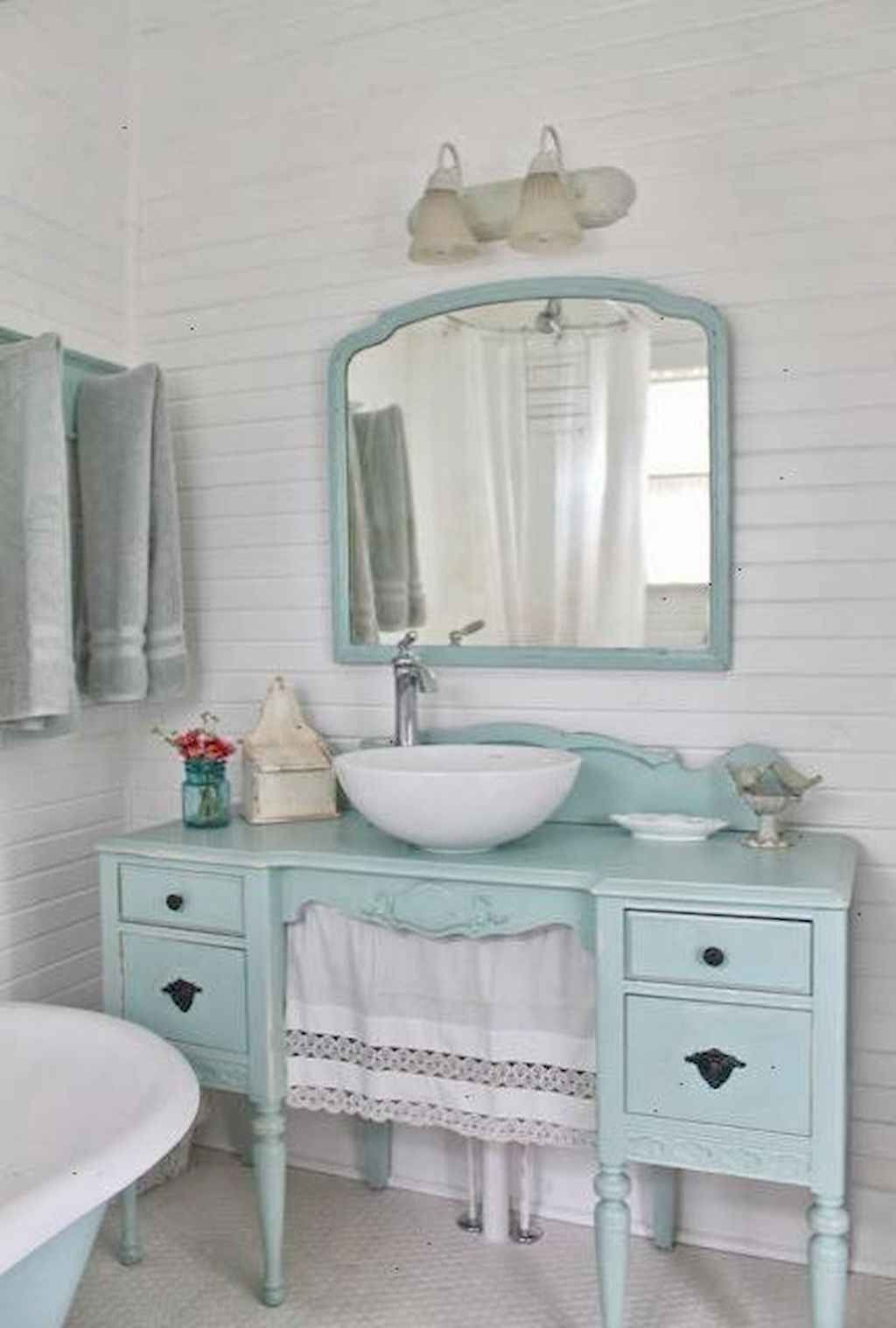 59 Cozy Shabby Chic Style Bathroom Decor Ideas In 2020 Chic Bathroom Decor Shabby Chic Bathroom Decor Shabby Chic Bathroom