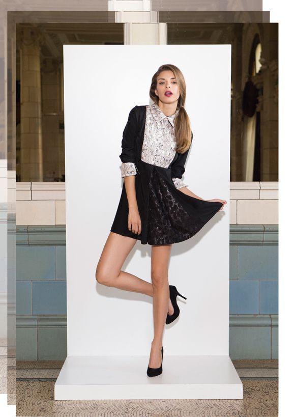 Vestido Irene #FW15 by Felicity Urban #moda #fashion #muyfelicity