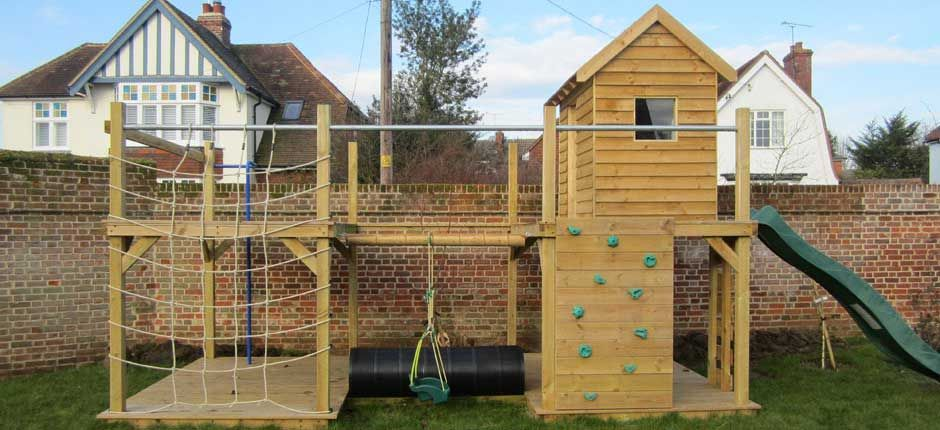 Beau Magnificent Bespoke Climbing Frame And Childrenu0027s Play Area By Garden Tales