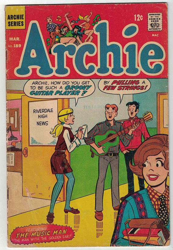 Items similar to Archie Comics #189 on Etsy