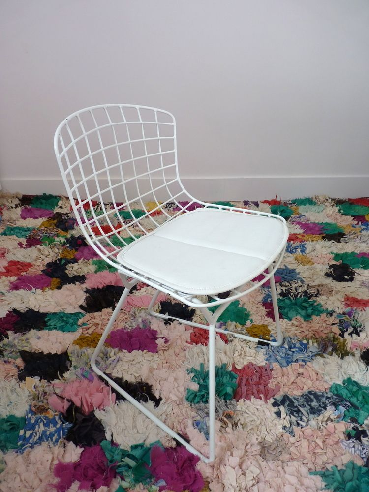 Chaise Enfant Inspiration Bertoia Blanche Www