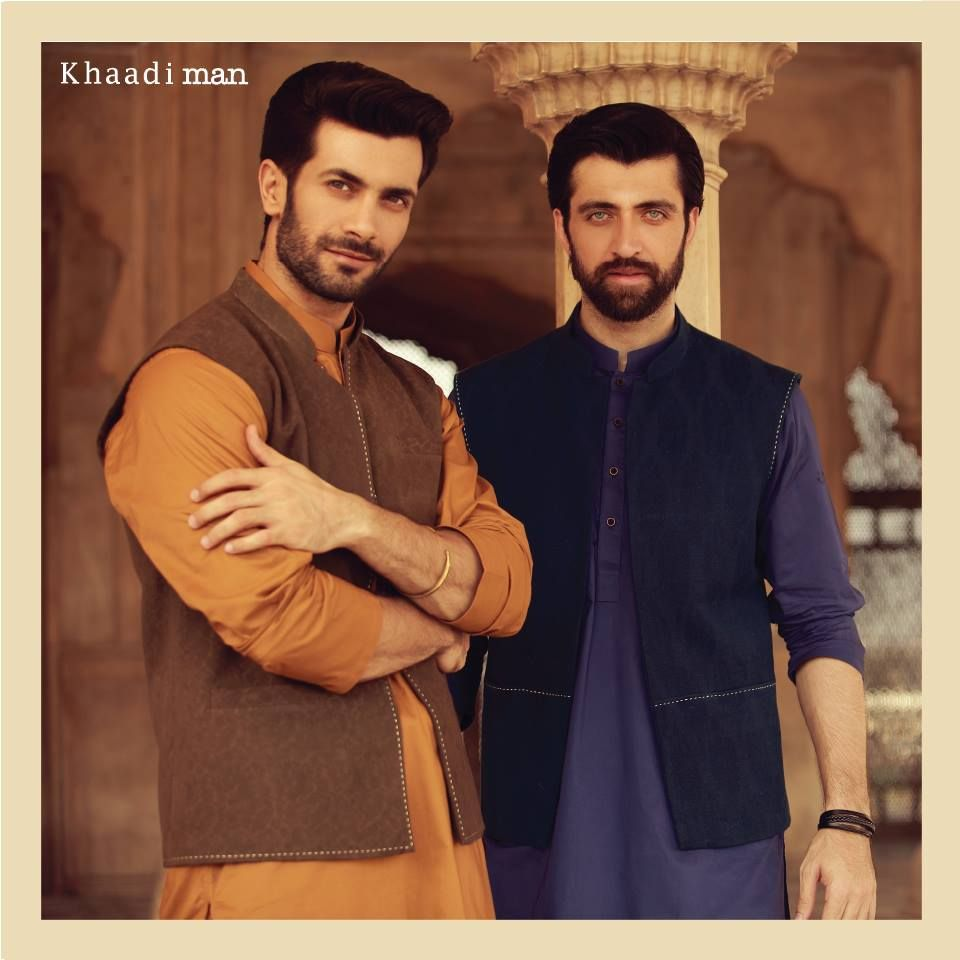 af18d7c2de Latest Pakistani Men kurta and waistcoat designs for eid ul adha ...